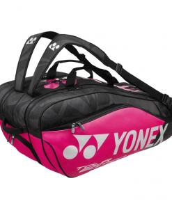 yonex taška pre 9 rakiet pink-ružová