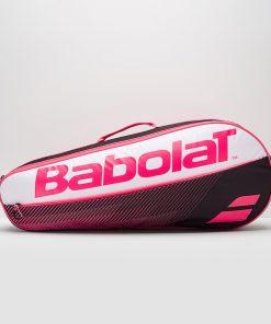 Babolat racket holder essential x3 tenisová taška ružová