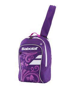 babolat junior club detská tenisová taška fialová ruksak