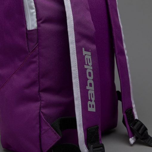babolat junior club detská tenisová taška fialová zadok