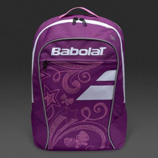 babolat junior club detská tenisová taška fialová predok