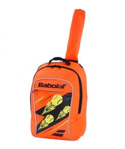 babolat junior club detský ruksak oranžový celok